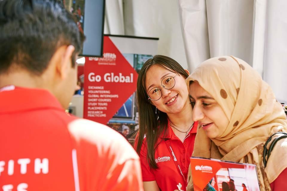 Trường Griffith sẽ có 3 mức học bổng từ 10% đến 50% cho sinh viên quốc tế trong kỳ nhập học năm học 2020