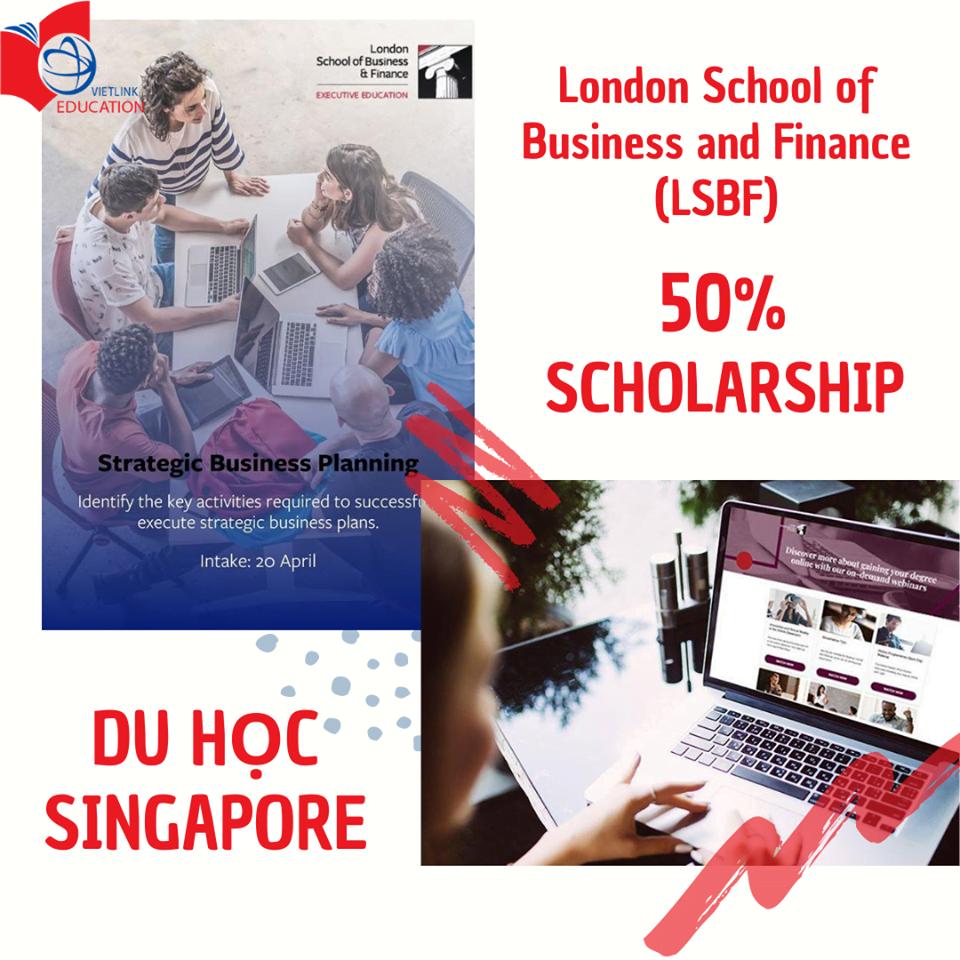 Học bổng Trường LSBF, Singapore